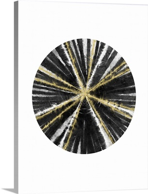 Black, White, and Gold Ball