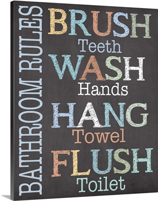 Brush Wash Flush