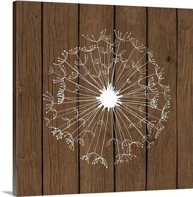 Dandelion Brown Wood II