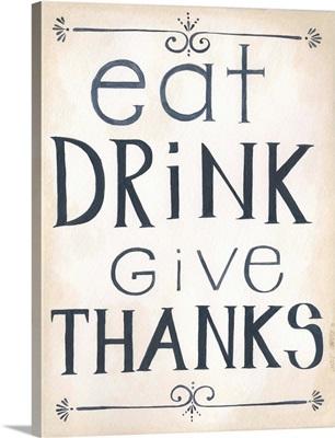 Eat, Drink