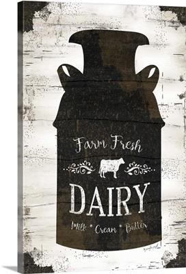 Farmhouse Milk Can