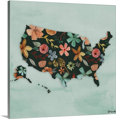 Floral America III