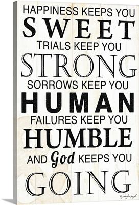God Keeps You Going