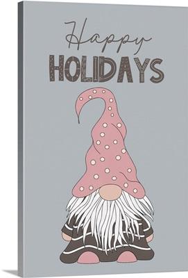 Happy Holidays Gnome