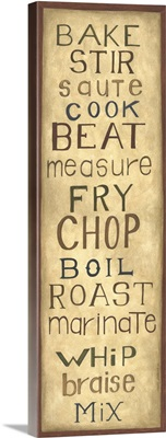Kitchen Words