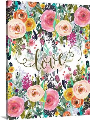 Love Colorful Florals