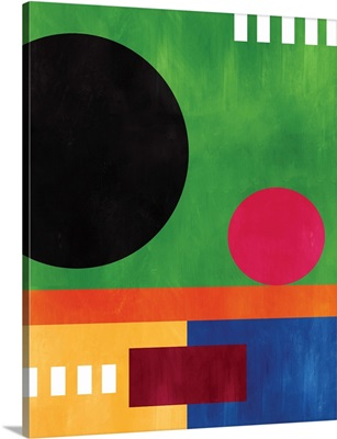 Multicolor Geometric IV