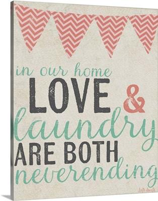 Neverending Laundry