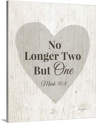 No Longer Two