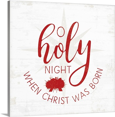 O Holy Night - Red