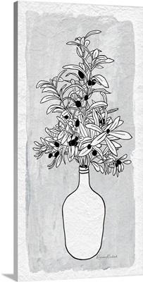 Olive Branch Vase