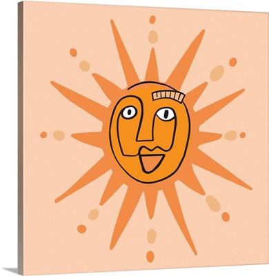 Peach Sun