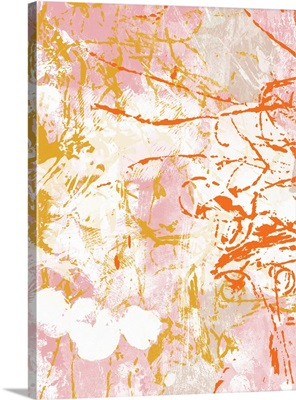 Pink And Orange Abstract