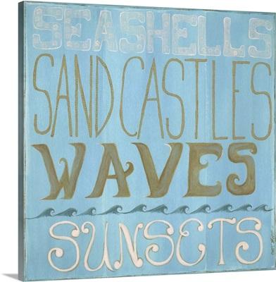 Seashells and Sand Castles