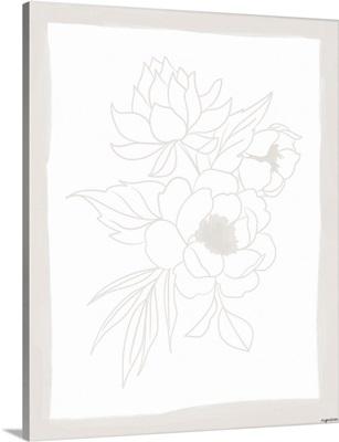 Stencil Floral II