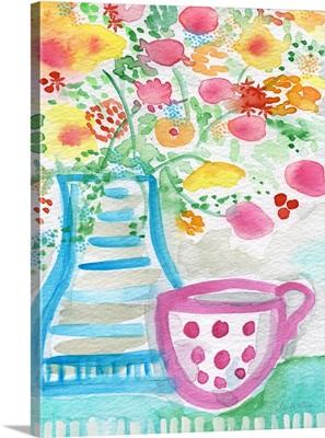 Tea and flowers III