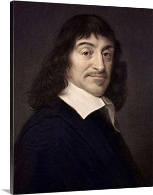 1649 Rene Descartes portrait philosopher