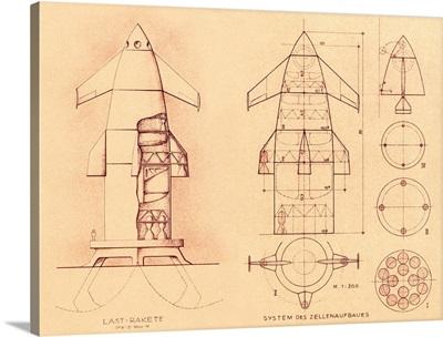 1951 space shuttle design