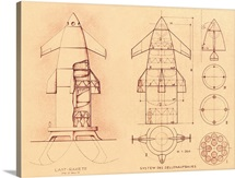 1951 space shuttle design