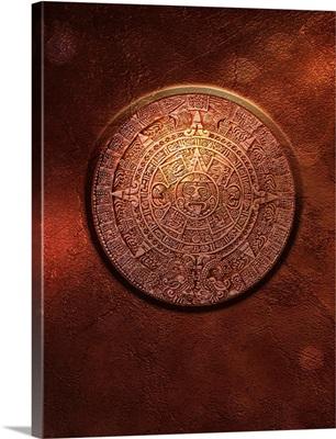 Aztec Sun Stone, artwork