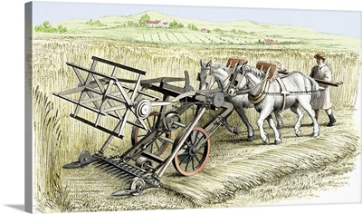 Bell's Improved Reaping Machine