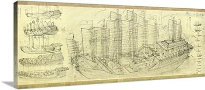Chinese armada, artwork