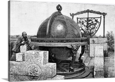 Chinese celestial sphere, 17th century