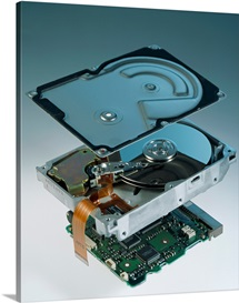Computer hard disk assembly