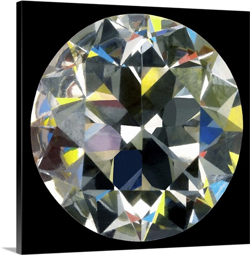 Cut and polished diamond Wall Art, Canvas Prints, Framed Prints ...