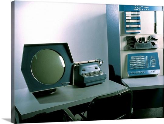 DEC PDP-1 computer Wall Art, Canvas Prints, Framed Prints, Wall ...