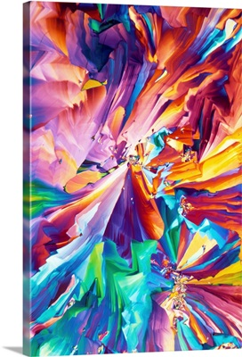 Glutamic acid crystals, light micrograph