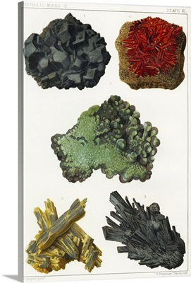 Heavy metal minerals