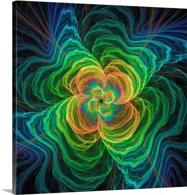 Quantum Gravity, Conceptual Illustration