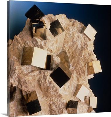 Sample of pyrite