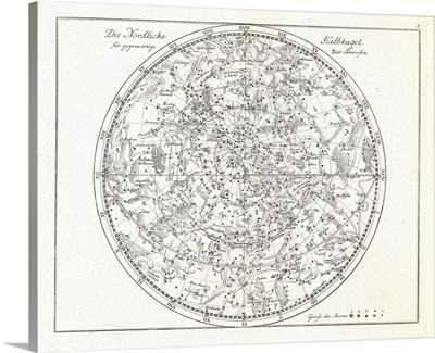 Star map, 1805