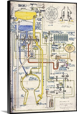 V-2 rocket pipe plan