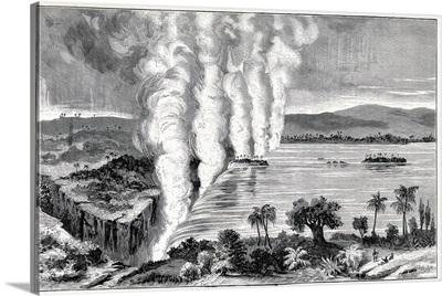 Victoria Falls, 19th century
