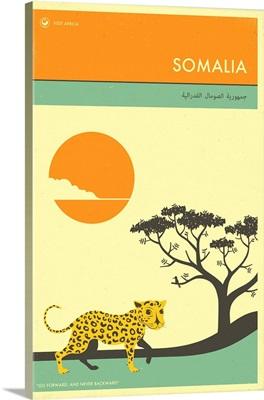 Minimalist Travel Poster - Somalia, Africa