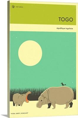 Minimalist Travel Poster - Togo, Africa