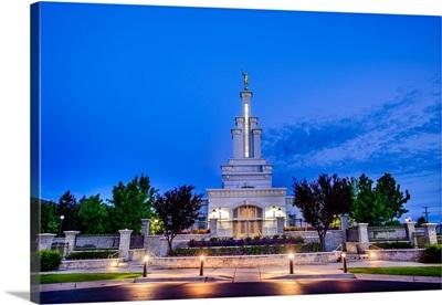 Columbia River Washington Temple, Early Morning, Richland, Washington