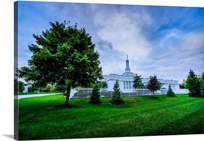 Columbus Ohio Temple, Verdant Grounds, Columbus, Ohio