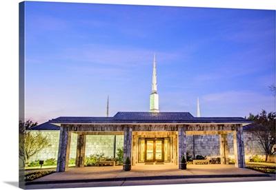 Dallas Texas Temple Entrance, Texas