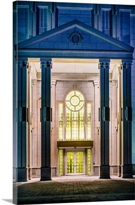 Houston Texas Temple Doors, Spring, Texas