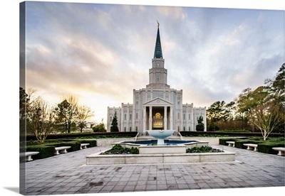 Houston Texas Temple Fountain, Spring, Texas