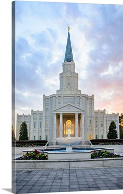 Houston Texas Temple, Red and Blue, Spring, Texas