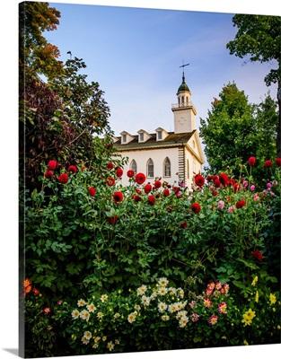 Kirtland Ohio Temple, Flowers, Kirtland, Ohio