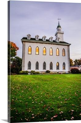 Kirtland Ohio Temple, Lights On, Kirtland, Ohio