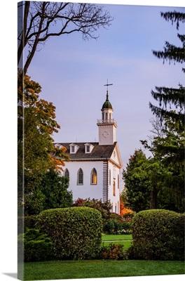 Kirtland Ohio Temple, Morning Light, Kirtland, Ohio