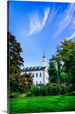 Kirtland Ohio Temple, Morning Skies, Kirtland, Ohio