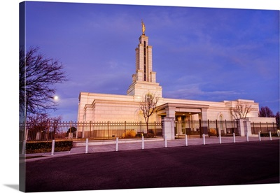 Lubbock Texas Temple, Early Morning, Lubbock, Texas